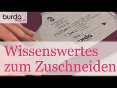 """DaWanda Nähschule: """"Wie kopiere ich ein Schnittmuster auf Papier?"""" - YouTube"""