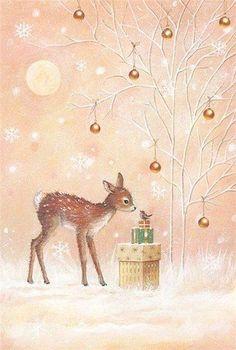 Милые новогодние иллюстрации : фото #2