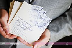 Ceremony Programs by Thinking Paper