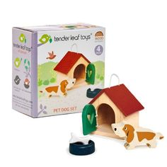 Buy Wooden Pet Dog Play Set from our gift range at English Heritage. Non Toxic Paint, Buy Toys, English Heritage, Bank Holiday Weekend, Pet Rabbit, Wooden Dolls, Pet Dogs, Play, Puzzles