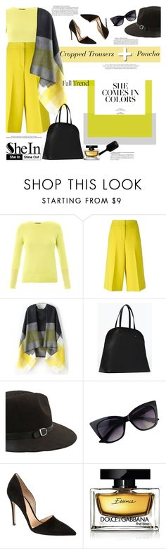 """""""She loves colors"""" by naki14 ❤ liked on Polyvore featuring Freda, Odeeh, Murphy, Sally Hansen, Gianvito Rossi, Dolce&Gabbana, GHD, vintage, Sheinside and shein"""