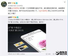 Interesante: El Xiaomi Max tendrá una bandeja SIM 2 en 1