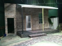 Set from Proof by David Auburn designed by Robin Turner for Kelvin Players Theatre Co.