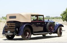 1930 Tourer by Hooper (chassis 143GN, body 7426, design 4419)