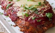 Ce pain de viande est GÉNIAL ! Fait de saucisse italienne, il vous réserve d'agréables SURPRISES! Sloppy Joe, Meatloaf, Recipes, Foie Gras, Meal, Cooker Recipes, Italian Meatloaf, Italian Cuisine, Ground Meat