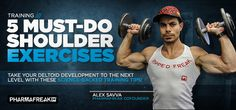 Bodybuilding.com - Define Your Delts: 5 Must-Do Shoulder Exercises Standing DB Press Prone Reverse Flyes Bent-Over Reverse Fly 21's Lateral Raises Neutral Grip Sternum Chin-Up