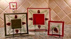 ALGlassworks' Pine Plate Collection - Delphi Artist Gallery