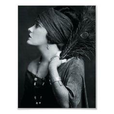 Black + white vintage glamour photos