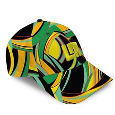 Golfing Caps by Loudmouth Golf - Bent Grass All-Over Cap.  Buy it @ ReadyGolf.com
