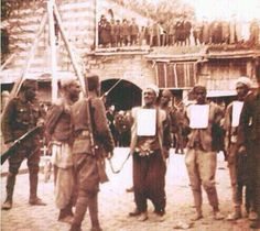 The Turkish army prosecuting a Kurdish man and his friends in  Dyarbekir in 1925 simply because they were Kurds .