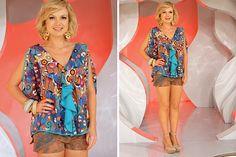 Portal BDI Eliana escolheu roupa estampada neste domingo; veja detalhes do look BBB 11 Notícias TV