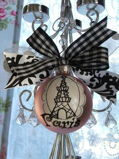 ornament.  You don't HAVE to decorate in the boring red and green.  Make it match your house.