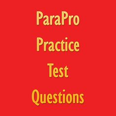 The ParaPro test is designed for anyone who wish to become teacher aides and assistants. To ace the ParaPro exam, take advantage of these ParaPro exam practice questions. #parapro #teaching