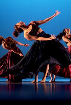 Beautiful women of dance