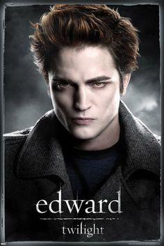 Robert Pattinson  http://www.popartuk.com/g/l/lgpp31687%2Brobert-pattinson-is-edward-twilight-poster.jpg