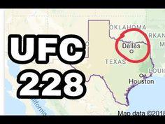 MMA UFC confirms UFC 228 bouts