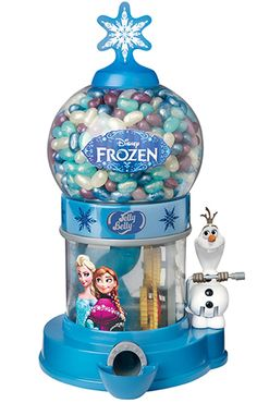 Disney Frozen Jelly Belly Bean Machine with Jelly Beans - 1 Unit - Do you want to build a Snowman? - Healt and fitness Little Girl Toys, Baby Girl Toys, Toys For Girls, Jelly Beans, Jelly Belly Beans, Jelly Bean Machine, Disney Princess Toys, Minnie Mouse Toys, Bulk Candy