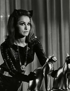 """I think animals reflect the personalities of their owners. That's why I like birds - they're like champagne bubbles, with no worries. Just gay and euphoric. So am I. And cats, too. They're individualists, they won't do anything if they don't want to. Neither will I."" -- Julie Newmar (Bizarre Los Angeles)"