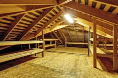 How to Install a Partial or Full Floor in the Attic for Storage | eHow