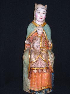 Virgen con el Niño. Carbajosa de la Sobarriba. S. XII