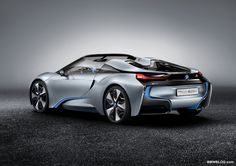 BMW i8 Spider  The back is just as beautiful