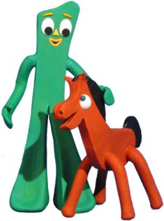 Gumby and Pokey!  I remember my parents and I going to every toy store in Houston looking for Pokey.  They were all sold out.