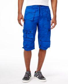 53a08e2bdc Sean John Men's Multi-Pocket Flight Shorts & Reviews - Shorts - Men - Macy's