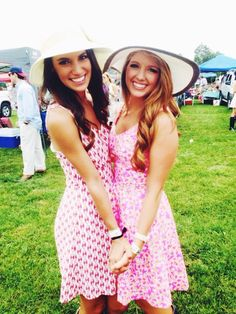 cute sun dresses and floppy hats