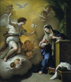 The Annunciation by Paolo de Matteis