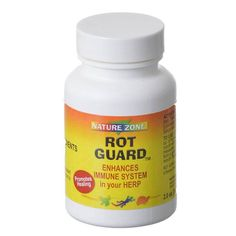 Nature Zone Rot Guard enhances immune health in herps. Promotes healing. Fights bacteria . All natural ingredients with no preservatives.