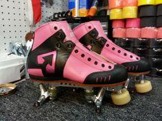 Custom Antik AR1 Skates.  http://www.derbysmack.com/antik-skate-boots-en.html
