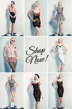 Wheels & Dollbaby - Pin-up clothing