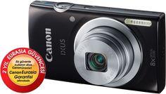 Canon Ixus 147 Siyah Dijital Fotoğraf Makinesi ( 4GB Hafıza Kartı + Taşıma Çantası Hediye ! ) :: herseymivar