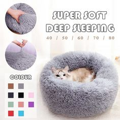 Buy Warm Sleeping Bag Long Plush Soft Cat Bed at www. Pet Beds, Dog Bed, Amazon Tv, Cat Sleeping, Friends, Your Pet, Cute Animals, Baby Animals, Pink