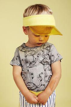 Flamingo t-shirt - SpringStof - The online shop for Little Fashionistas