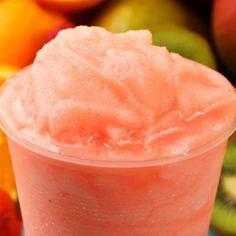 Smoothie glacé pastèque fraises