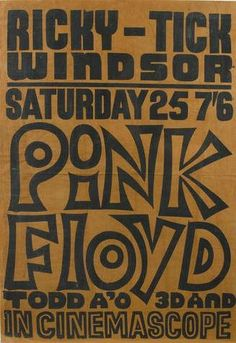 Pink Floyd played two shows in one day, this day in 1967: an early appearance at the Ricky Tick Club, Windsor, England, and then a gig at The UFO Club, Tottenham Court Road, London, which was filmed by a German TV crew.