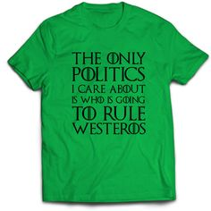 Game of Thrones T-shirt funny tshirts plus size tshirts