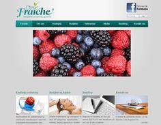 Dette er Clinic Fraiches nettside. De har brukt Idium Web+.