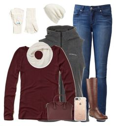 """""""school"""" by a-hidden-secret ❤ liked on Polyvore featuring Paige Denim, Columbia, Hollister Co., Rebecca Minkoff, Halogen, Superdry, Tommy Hilfiger, Casetify and Givenchy"""
