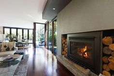 While Gas Fireplace Inserts Require No Electricity And Are