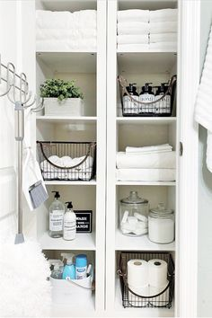 Better Homes & Gardens Storage Cubes can be used almost anywhere. Even in a linen closet, sold exclusively