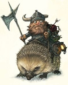 380x477_5694_Hedgehog_and_Soldier_2d_warrior_dwarf_fantasy_picture_image_digital_art.jpg (380×477)