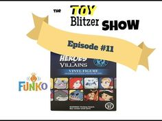 Toy Blitzer Show Episode #11 Disney Heroes vs. Villains Mystery Minis