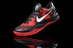 watch 48ad1 7b4f5 Kobe 2013 Kobe VIII Sport Red Black White 555035 102 Nike Kobe Bryant, Kobe  Bryant