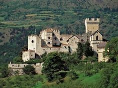 Castle Coira in Sudtirol, Italy ... now owned by Count Von Trapp.