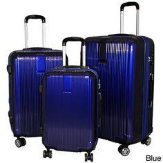 American Traveler 3-piece Hardside Lightweight Expandable Spinner Luggage Set