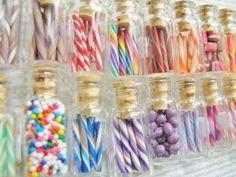 Dollhouse Miniature Candy, Food, & Curiosity Jars -  Blythe Candy Shop - Choose ANY 3. $20.00, via Etsy.