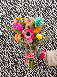 how to make a party bouquet!