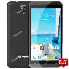 "Presell VKWORLD VK700 Pro 5.5\"" HD 3.0D MTK6582 Quad-core Андроид 4.4 3G Телефон 13MP CAM 1GB RAM 8GB ROM P05-VK700P"
